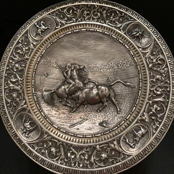 Antique Silver Tazza - Silver