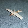 WW1 Trench Art airplane model