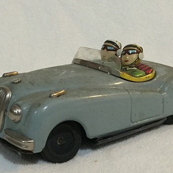50s Japanese  friction car - Toys