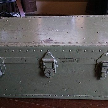 Military trunk - Military and Wartime