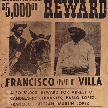Pancho Villa and henchman poster - Posters and Prints