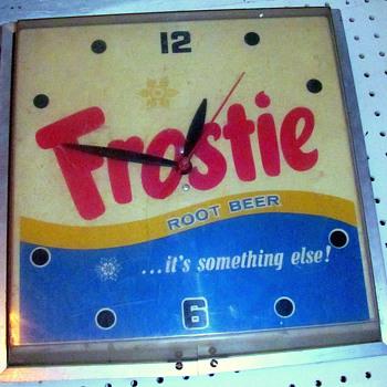 Old Frostie's Root Beer!  Wall Clock