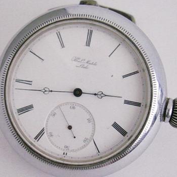 H. L. Matile Car Clock - Classic Cars