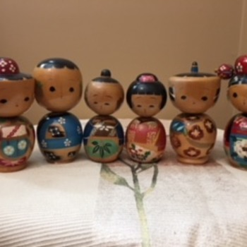 My Japanese Kokeshi Doll Collection - Dolls