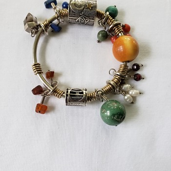 Unknown maker Native American Bracelet with Charms - Fine Jewelry