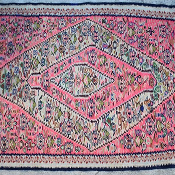 Kurdish Kilim Carpet - Rugs and Textiles