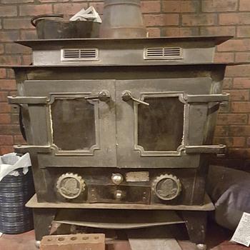 wood burning stove - Kitchen