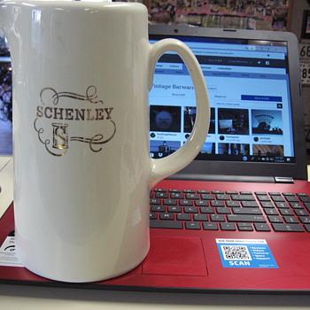 Old SCHENLEY Whiskey Pitcher - Kitchen