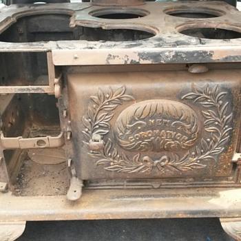 """old columbian stove works stove""""new coronation - Kitchen"""