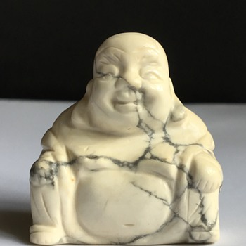 Vintage stone Buddha  - Asian