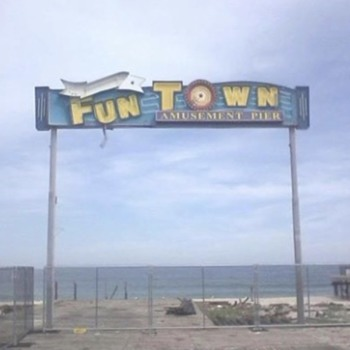 Funtown Sign from Seaside Park NJ - Signs