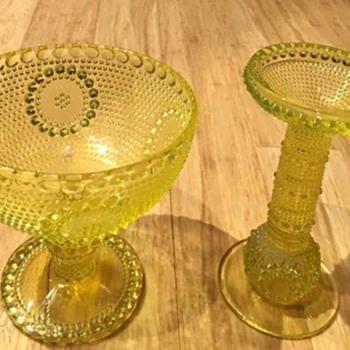 More Scandinavian Uranium Glass - Art Glass