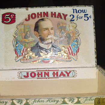 John Hay Cigar Box - Tobacciana