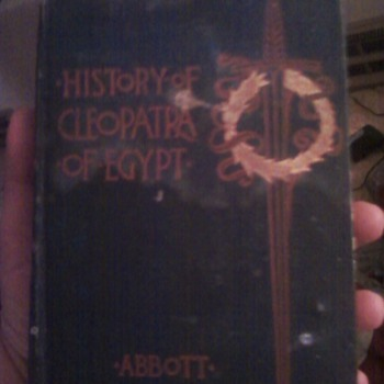 The History of Cleopatra of Egypt with Engravings -Abbott