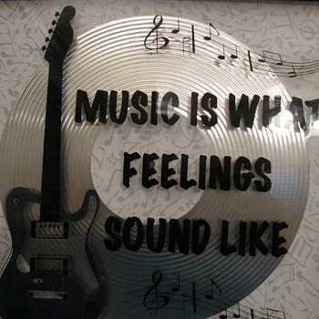 Musik Cave Signs - Music Memorabilia