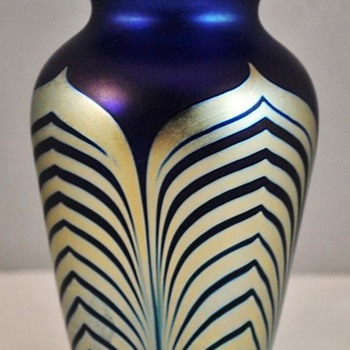 Correia Art Glass Vase  - Art Glass
