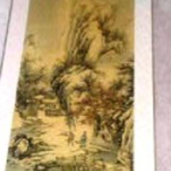 Asian Scroll - Asian