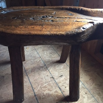 primitive table or farm equipment - Furniture