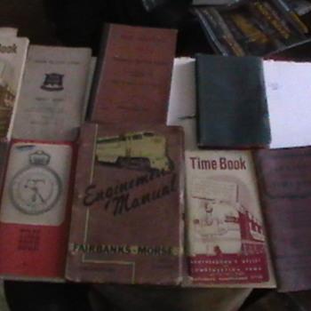 Railraod books - Railroadiana