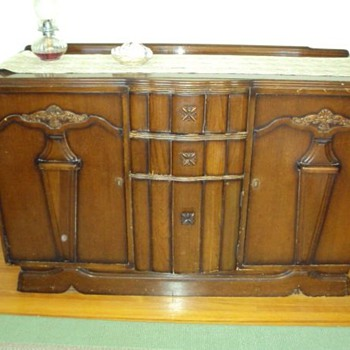 Art Deco Bar/Buffet - Furniture