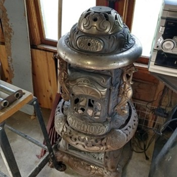 Ilinoy parlor stove no.341 made in 1906 - Kitchen
