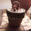Basket by Ann Mitchell, Mohawk