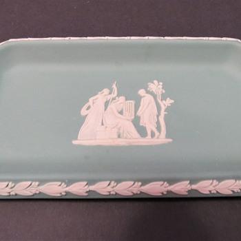 Wedgwood Jasperware Pin Tray - Mint Green - China and Dinnerware