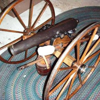 1/2 scale Civil War Howitzer Cannon - Military and Wartime