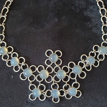 Sterling Moonstone Necklace - Fine Jewelry