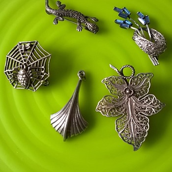 Some Silver Finds Today.... - Fine Jewelry
