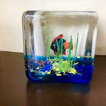 Murano Glass Aquarium  - Art Glass