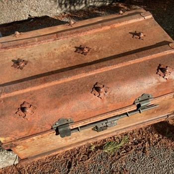Old Travel/Steamer Trunk, I think... - Furniture