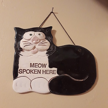 MEOW SPOKEN HERE - Animals
