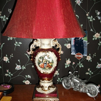 French antique bedroom table lamps - Lamps