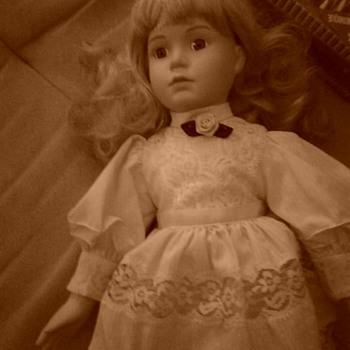 Leah Anne Porcelain Doll  - Dolls