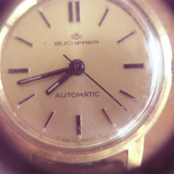 BUCHERER LADIES WATCH