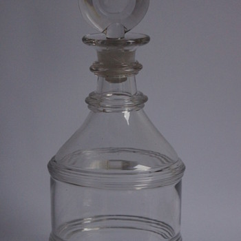 Pulley Ring Decanter - Art Glass