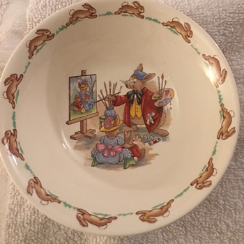 Royal Doulton Bunnykin Bowl - China and Dinnerware
