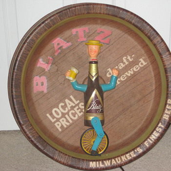 "My Blatz "" Bottleman Unicycle - Signs"