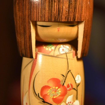 Large 6.5 inch Kokeshi - Dolls