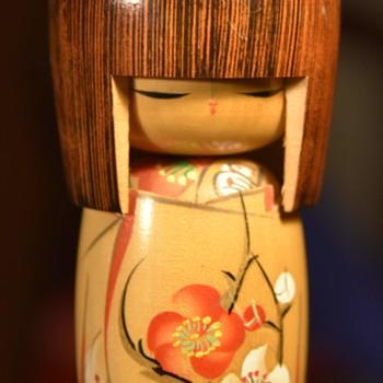 Large 6.5 inch Kokeshi - Dolls