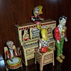 """""""Lil' Abner and the Dogpatch Band"""" Tin Windup Toy-1945"""