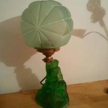 Was my nan's lamp