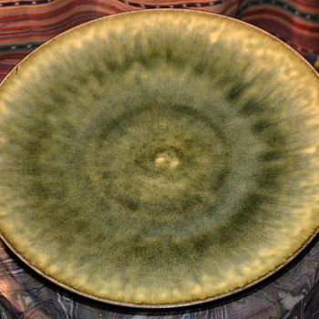 Large 12.5 inch Jars Ceramicistes Tourron Platter - Kitchen