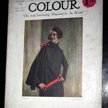 Colour Magazine - August, 1926 - Paper