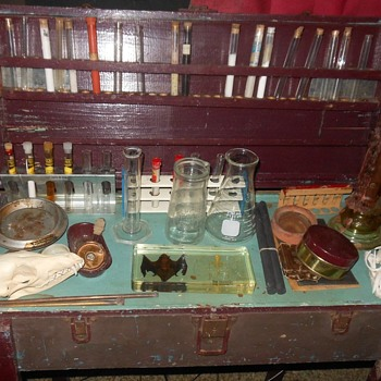 My Laboratory For Fiendish Experiments! - Bottles