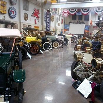 Vintage Car Museum pt 2 - Classic Cars