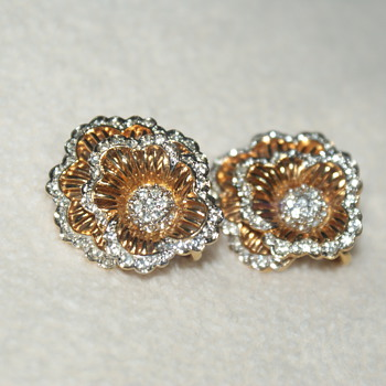 D'Orlan Clip On Earrings - Costume Jewelry