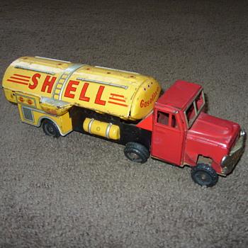shell tanker truck - Toys