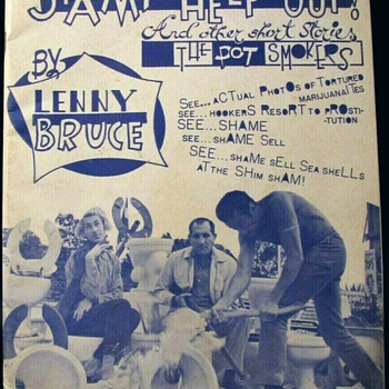"""1960's Icon LENNY BRUCE: """"STAMP HELP OUT!"""" 1962, First Edition - Books"""